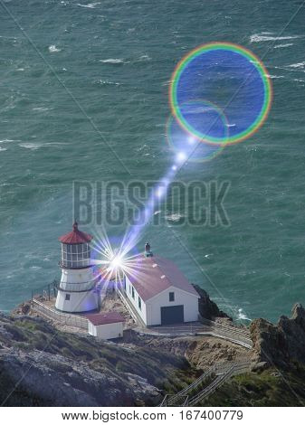 Lighthouse at Point Reyes National Park California