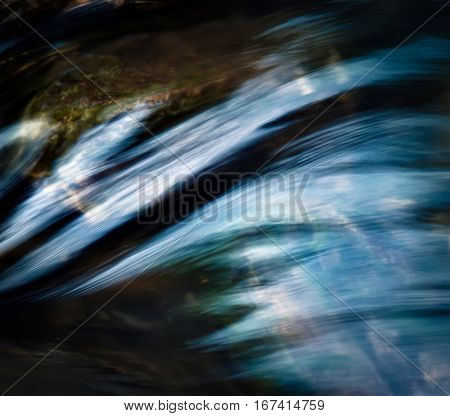 background abstract dark wave on the river