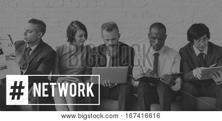 Goals Target Network Inspiration Aspiration Vision poster