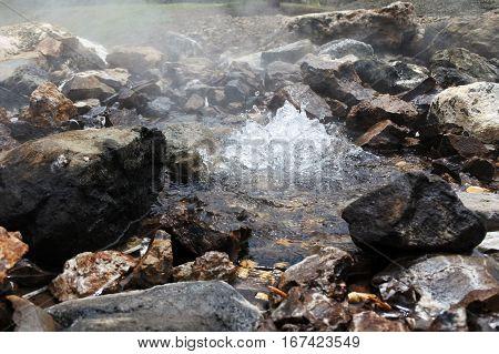 Hot Water Spring In Savusavu Fiji