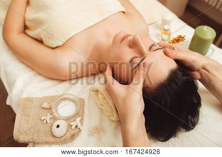 Massage Spa Body Relax Rest Treatment Pleasure Beauty Health Care Vacation Resort Concept