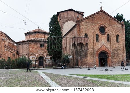 Seven Churches In Abbey Santo Stefano