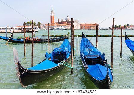 San Giorgio Maggiore Through San Marco Canal