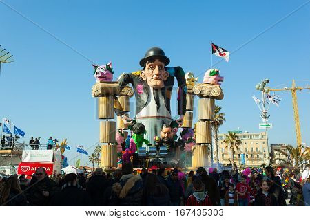 140Th Edition Of The Carnival Of Viareggio.