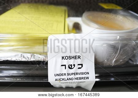 Kosher Airline Meal