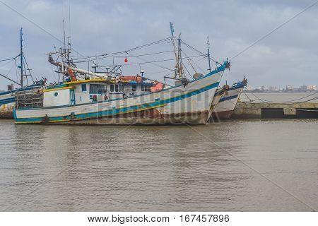 Fisherman Boat In Sao Jose Do Norte