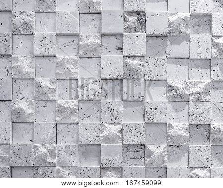 Wall Tiles Cubic Pattern texture background Black and white