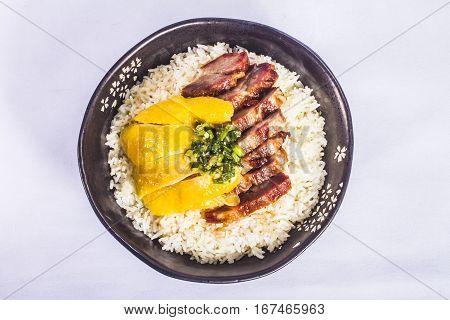 Pork And Chicken