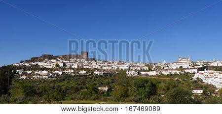 Village and castle  of Castelo de Vite, Portugal