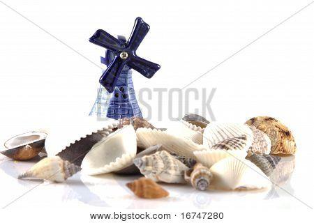 Windmill At The Coast
