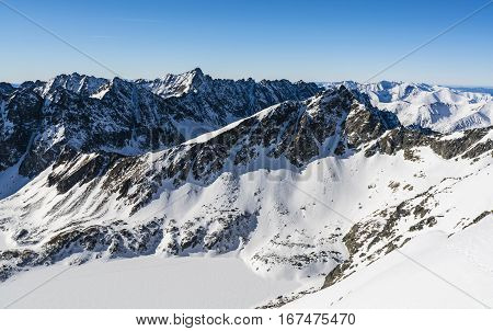 The Landscape Of The High Tatras And Western Tatras.