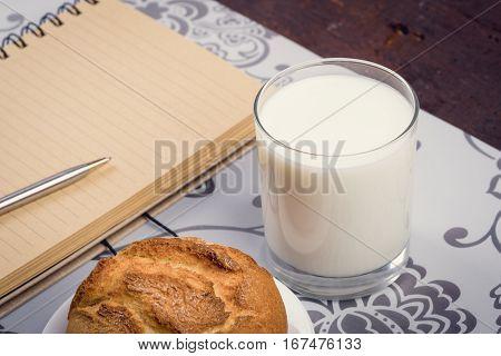 Milky Healthy Breakfast