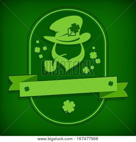 Leprechaun Template In Green