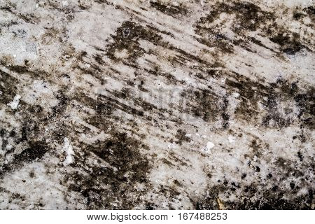 Asphalt, asphalt covered with ice and snow, asphalt texture, winter background
