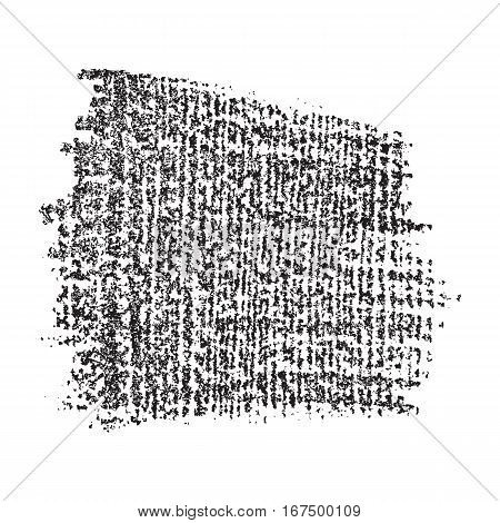 Black vector wooden grunge texture for your design