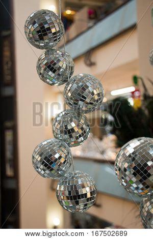 Disco Balls For Dancing In A Disco Club