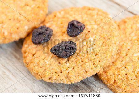 Cereal Cookies Closeup