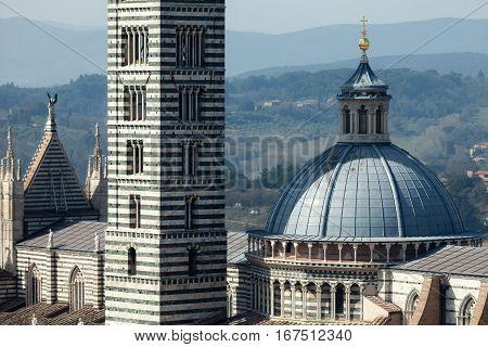 Siena Cathedral Closeup