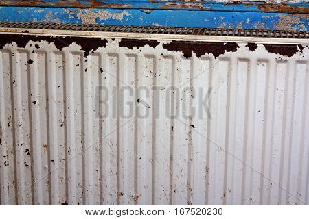 Rusty, Destroyed, Devastated, Moldy Radiator