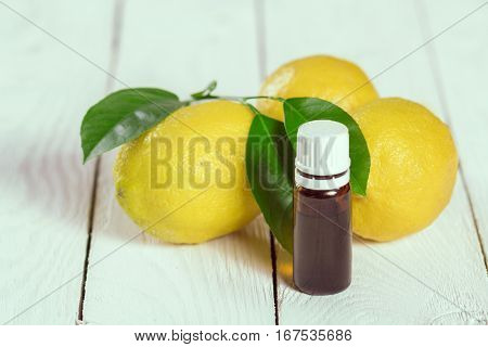 Lemons And Essential Oil