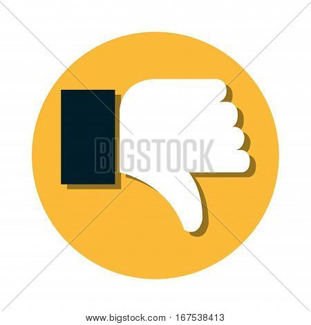 hand human unlike icon vector illustration design