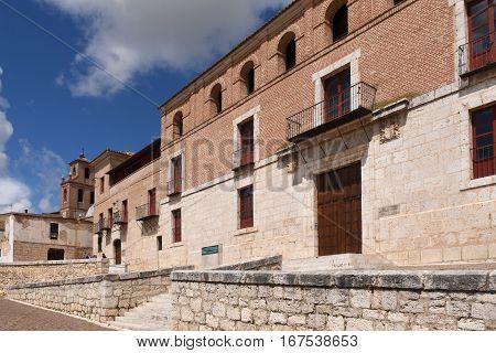 The Houses of the Treaty in Tordesillas Valladolid province Castilla y Leon Spain