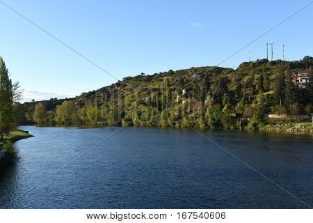 The Douro river near Mirandela Tras-os-Montes e Alto Douro Portugal