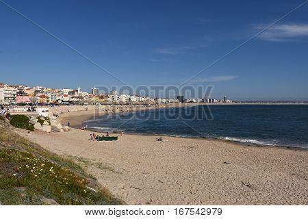 Village and Beach Buarcos Figueira da Foz Portugal