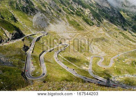 Transfagarasan highway, the most beautiful road in Europe, Romania (Transfagarashan)