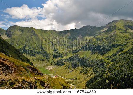 Transfagarasan highway, the most beautiful road in Europe, Romania