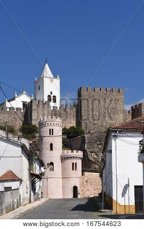 Castle of Penela Beiras region in Portugal