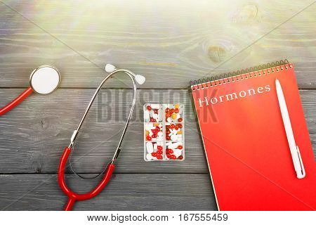 Ed Stethoscope, Notepad With Inscription