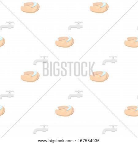 Washing hands icon cartoon. Single sick icon from the big ill, disease cartoon. - stock vector