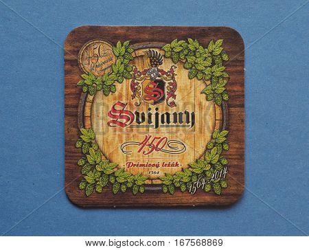 Beermat Drink Coaster