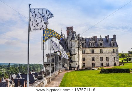 Hdr City Of Amboise France