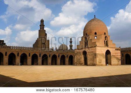 Tulun Mosque - Cairo, Egypt