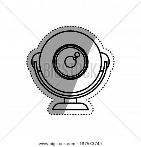 Webcam computer device icon vector illustration graphic design