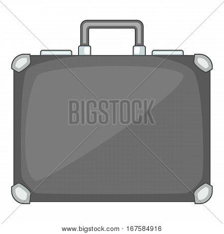 Briefcase icon. Cartoon illustration of briefcase vector icon for web