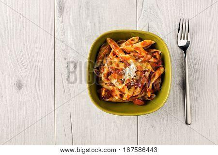 Penne Pasta With Chorizo Creamy Tomato Sauce