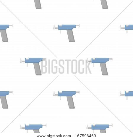 Ear piercing gun icon cartoon. Single tattoo icon from the big studio cartoon. - stock vector
