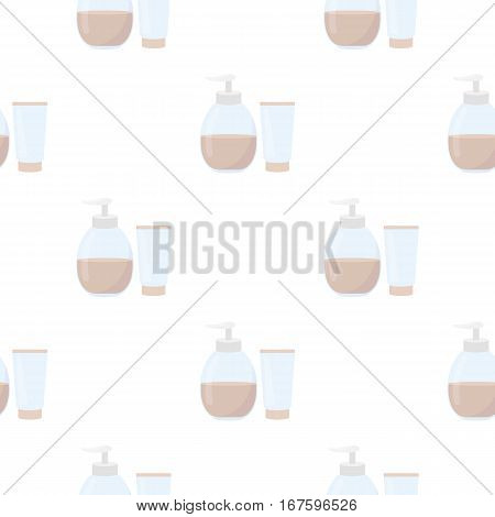Tube with gel icon cartoon. Single tattoo icon from the big studio cartoon. - stock vector