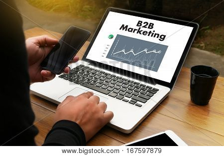 B2B Marketing  Business To Business Marketing Company , Businessman And Businesswoman