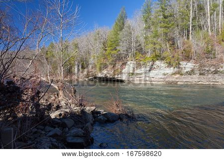 Clear Fork River Big South Fork National River and Recreation Area