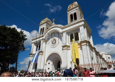 Holy Day In Diriamba City