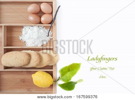 Savoiardi Ingredients