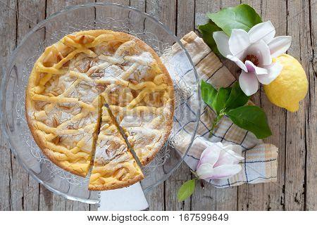 Slice Of Grandmas Cake
