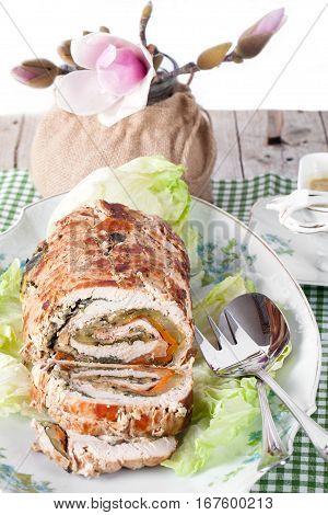 Roasted Turkey Roll