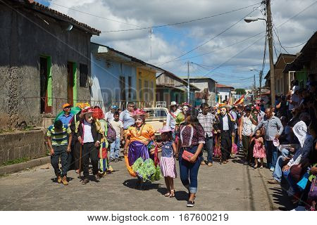 Old Man And Old Woman In Diriamba
