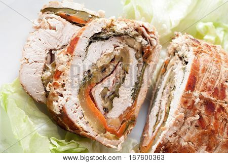 Turkey Roll Slices