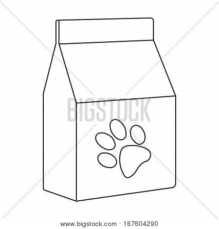 Cat food icon of vector illustration for web and mobile design - stock vector